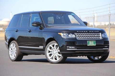 NEW 2017 LAND ROVER RANGE ROVER 5.0L V8 SUPERCHARGED WITH NAVIGATION & 4WD