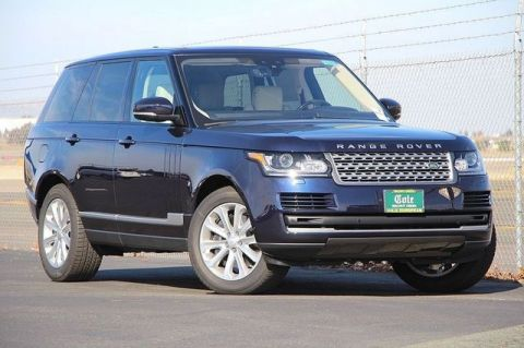 NEW 2017 LAND ROVER RANGE ROVER 3.0L V6 SUPERCHARGED HSE WITH NAVIGATION & 4WD