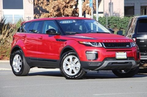 CERTIFIED PRE-OWNED 2017 LAND ROVER RANGE ROVER EVOQUE SE 4WD