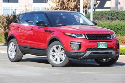 New 2018 Land Rover Range Rover Evoque SE