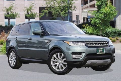 New 2017 Land Rover Range Rover Sport 3.0L V6 Supercharged HSE With Navigation & 4WD