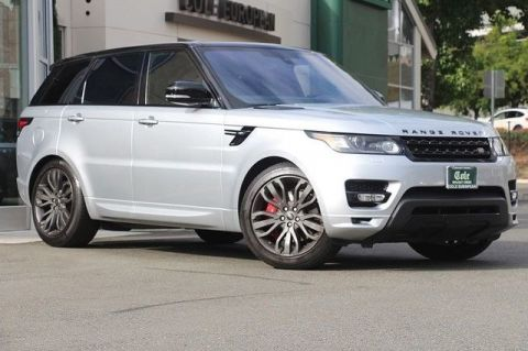 Certified Pre-Owned 2016 Land Rover Range Rover Sport 3.0L V6 Supercharged HSE 4WD